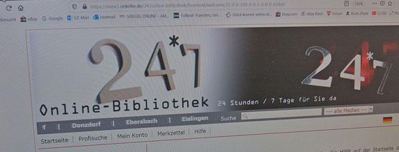 Online-Bibliothek 24*7